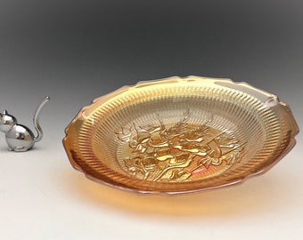 Jeannette Iris Iridescent Soup Bowls - Hard to Find Bowls