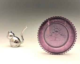 Vintage Pairpoint Cup Plate - Princeton Mercer Oak - PCPCA