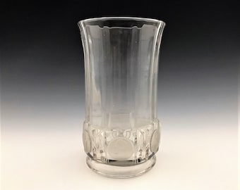 EAPG Celery Vase - U.S. Glass No. 15005-1/2 World's Fair (OMN) - Hard to Find - Early American Pattern Glass - Circa 1892