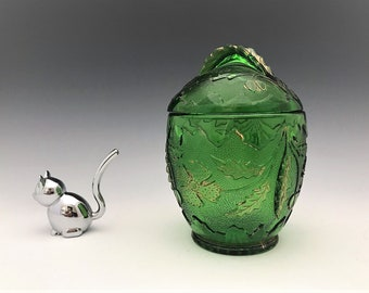EAPG Covered Sugar Bowl - US Glass Company - No. 15065 Delaware Pattern - AKA Four Petal Flower - Early American Pattern Glass - Circa 1899