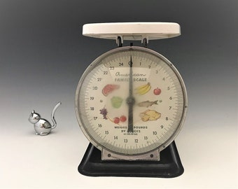 American Family Scale - Vintage Metal Scale