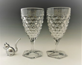 Fostoria American (2056) - Set of 2 Water Goblets (027002)