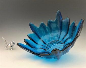 Viking Glass Epic No. 6900 Spiked Bowl - Stockholm Wayne Husted Bowl