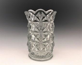 Tiffin Willamsburg Elegant Glass Vase - 6 Inch Vase