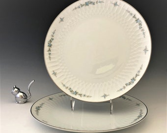 Noritake China Verda Pattern (6355) Dinner Plates - 10 5/8 Inch Plates - 1962-67
