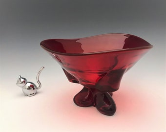 Viking Glass Epic No. 1209 - 8 Inch Footed Bowl