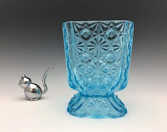 EAPG Sugar Bowl - Adams and Company - No. 86 (OMN) - AKA Daisy and Button With Thumbprint Panels - Early American Pattern Glass - Circa 1886