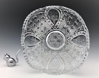 EAPG Bowl - John B. Higbee Glass Company - Banner (OMN) - Early American Pattern Glass - c. 1909