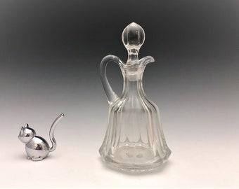 EAPG Cruet - Heisey Glass - No. 300 - AKA Peerless - Early American Pattern Glass - Circa 1899