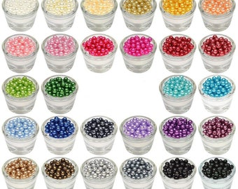 set of 50 plastic beads