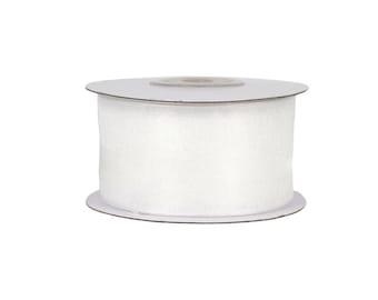 Ribbon organza / chiffon ribbon width 38mm, 25m roll