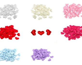 50 noble pieces, satin hearts