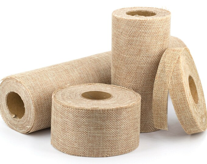 Featured listing image: burlap roll 6cm or 15 cm