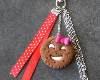 Handbag cookie polymer clay