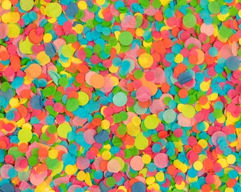 Cascarones Confetti Circles