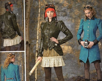 Simplicity 1299 Cosplay, Steam Punk, Costume Sewing Pattern