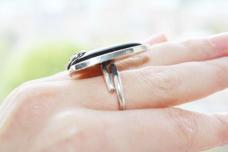 Black onyx Earrings Silver 925 gemstone Armenian Vintage jewelery Handmade women classic  black Sterling drop earings with English lock