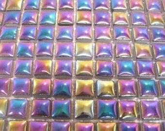 Sunflower 81 Small Mosaic Tile Sheet Tessera Ceramic Glazed