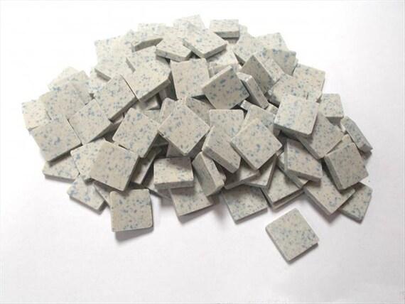 Saddle Brown 20mm Unglazed Porcelain Mosaic 25 Tile Mosaic Sheet