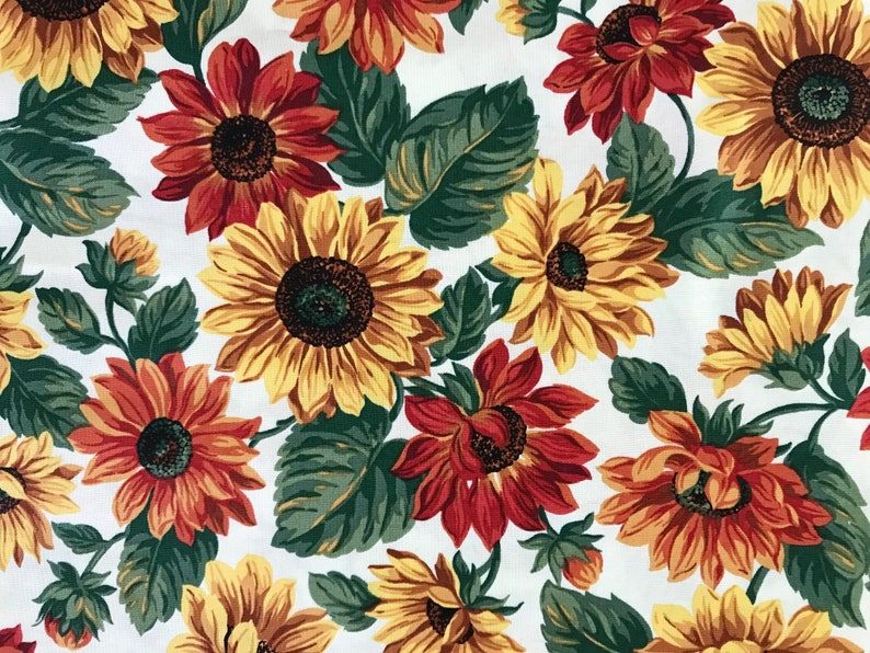 Quilt Kits/Focus Fabric Kits/Pattern Fabric Kits/Quilt Fabric Kits/Bouquet  Quilts/Sunflower Quilts/Quilt Patterns/Broderie Perse