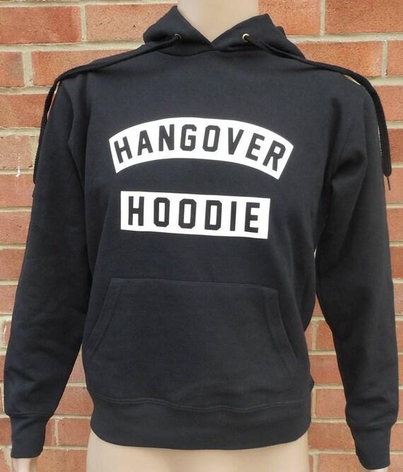 "New Men/'s Boys /""HANGOVER HOODIE/"" PRINT Sweatshirt Hooded Pullover Without Zip"