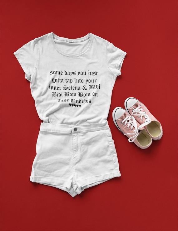 Selena Bidi Bidi Bom Bom Shirt Latina Shirt Selena Etsy