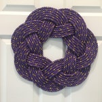 Custom Purple Wreath