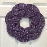 Custom Purple Wreath