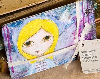 """Postkarten-Set """"Weisheiten von deinem inneren Kind"""", 6 Postkarten, Geschenk für die Frau, Affirmationen, Inspiration, Motivation,"""