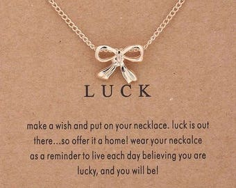 """Necklaces for woman """"Luck"""""""