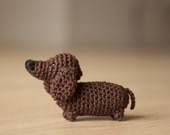 Crochet Dachshund - gift idea