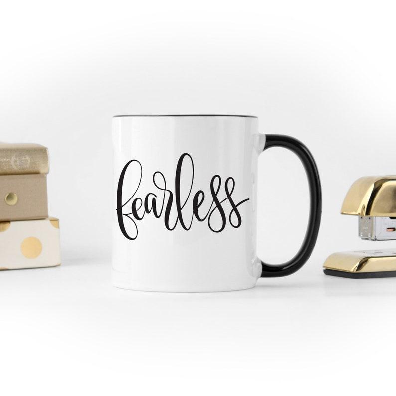 Fearless Mug by Shawna Clingerman image 0