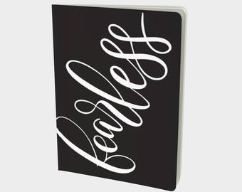 CUSTOM - Handlettered Word of the Year Notebook