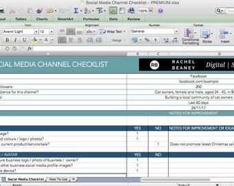 DIY Social Media Audit Checklist
