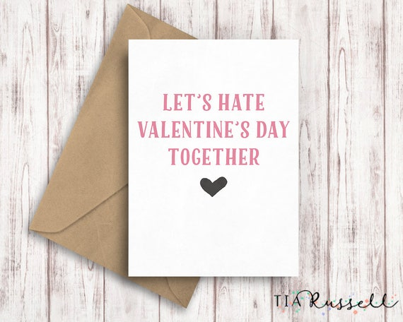 galentines day card best friend valentines day card etsy