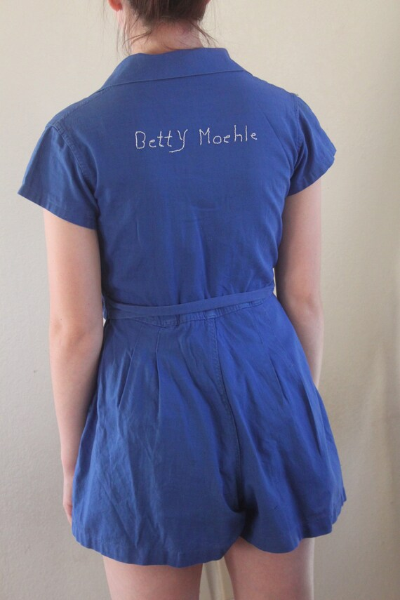 1940s Gym Time Romper - image 4
