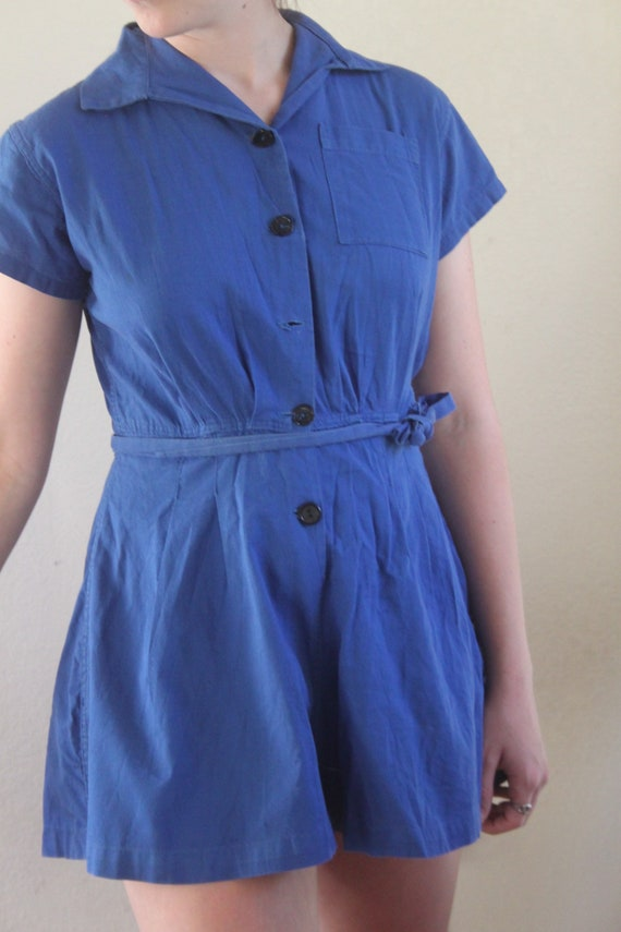 1940s Gym Time Romper