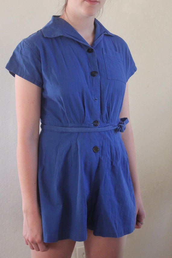 1940s Gym Time Romper - image 3