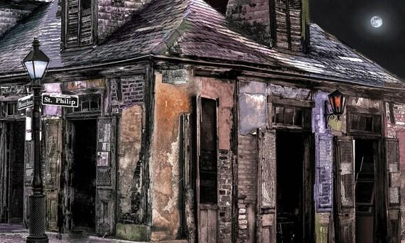 8x10  Lafitte House Bourbon st.