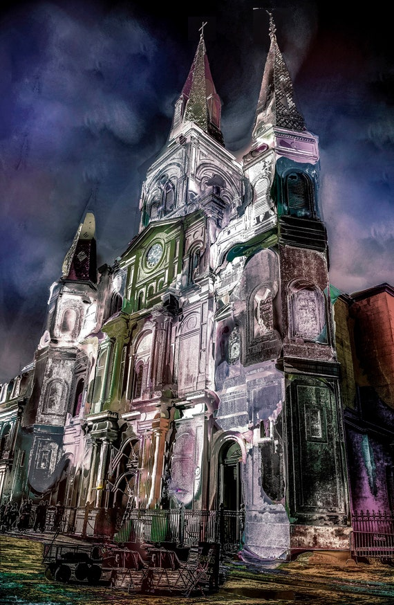 8x10  Cathedral New Orleans