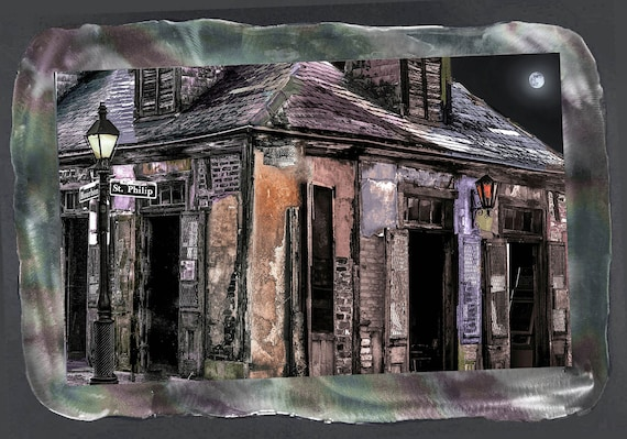 Haunting handmade of Lafitte's Blacksmith Shop New Orleans