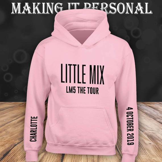 LITTLE MIX LM5 HOODIES 2019 TOUR - FREE NAME CAN BE ADDED :