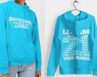 Leavers Hoodie Schools, Colleges & Universities Clubs Matching Hoodies Class Of 2021