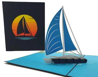 3 Raingutter Regatta//Sailing//Sailboat 1-2-3 Trophies Cub Scouts Free Engraving!