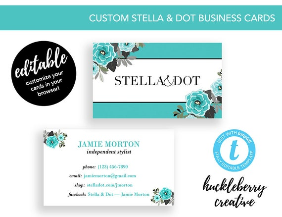 Stella dot business cards stella and dot independent colourmoves