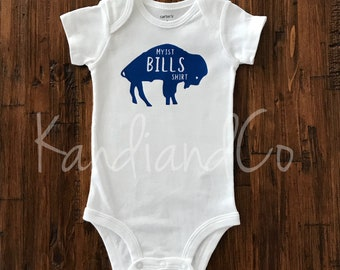 Etsy Bills Gift Football Baby Bodysuit Buffalo Shower