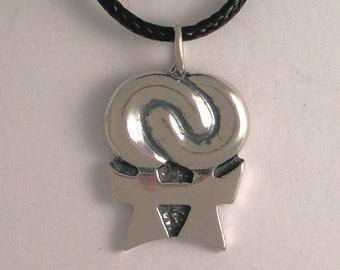 Double Venus Pendant-Sterling Silver
