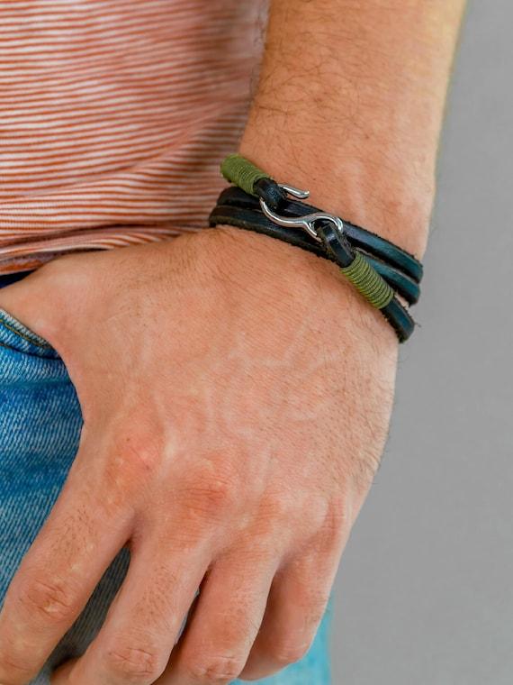 Bracelet en crochet pour homme