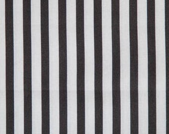 Black and white vertical stripes oilcloth sold Cup