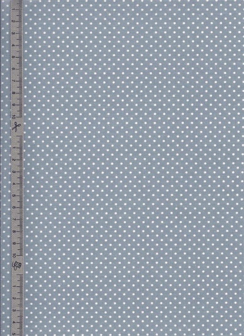 bb273c959a Tissu enduit en Toile cirée coton couleur bleu-gris a motif | Etsy